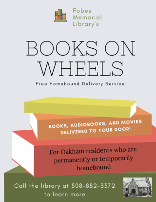 Books on Wheels delivery service