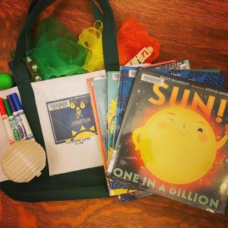 """""""Light"""" themed Storytime Bag"""