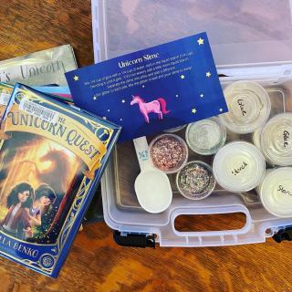 Unicorn Slime Book & Activity Pairing Kit